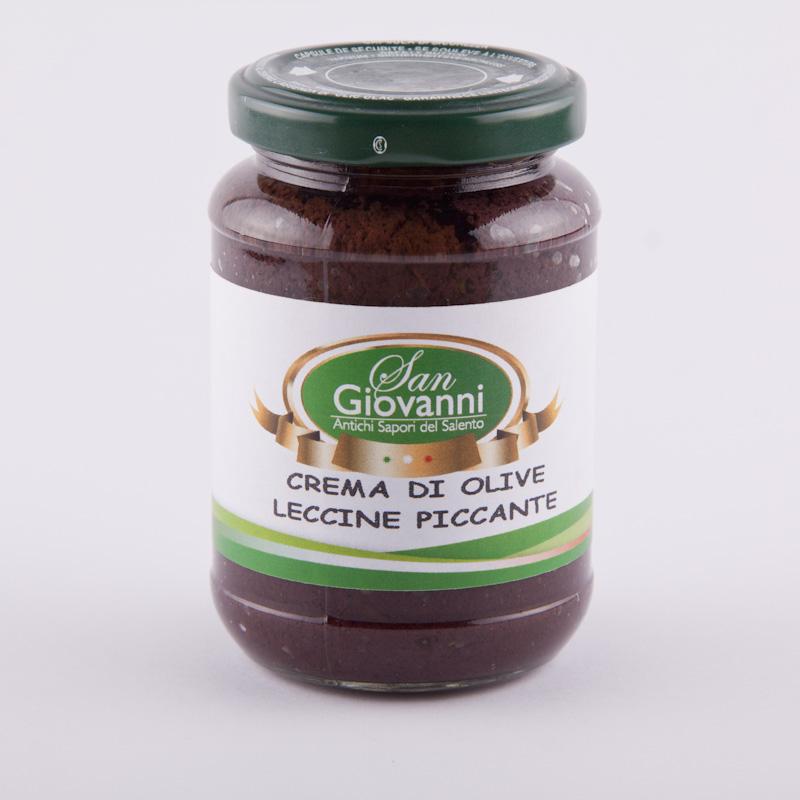 crema di olive piccante