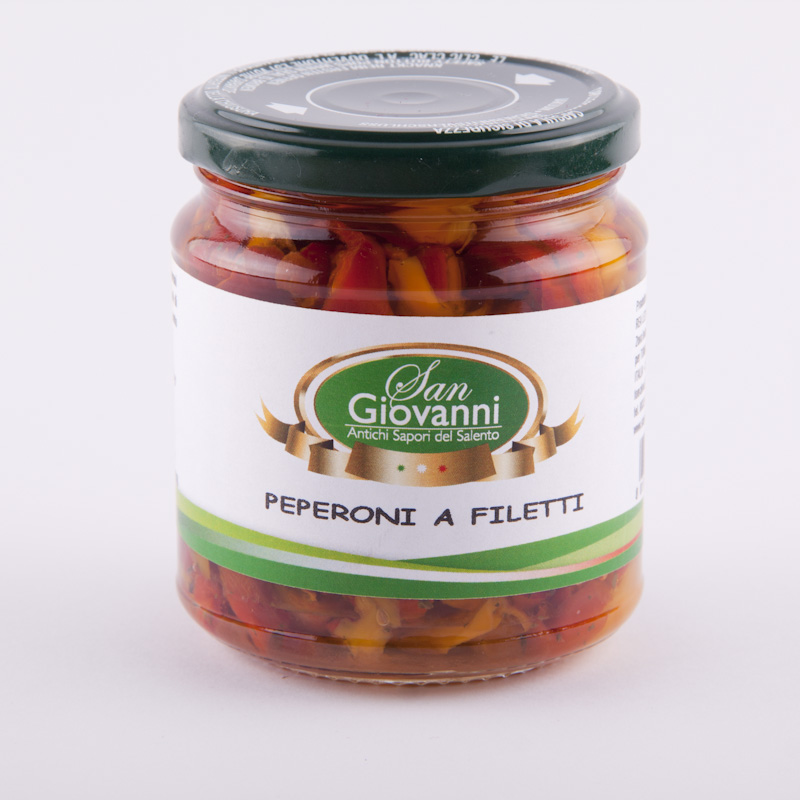 peperoni a filetti